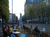 The square in Haarlem.