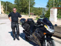Malki with CBR1000 in Spain